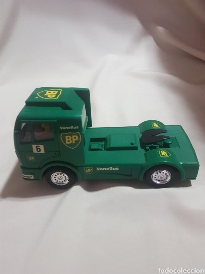 Scalextric: Camión scalextric mercedes scx verde n 6 bp - Foto 2 - 89750300
