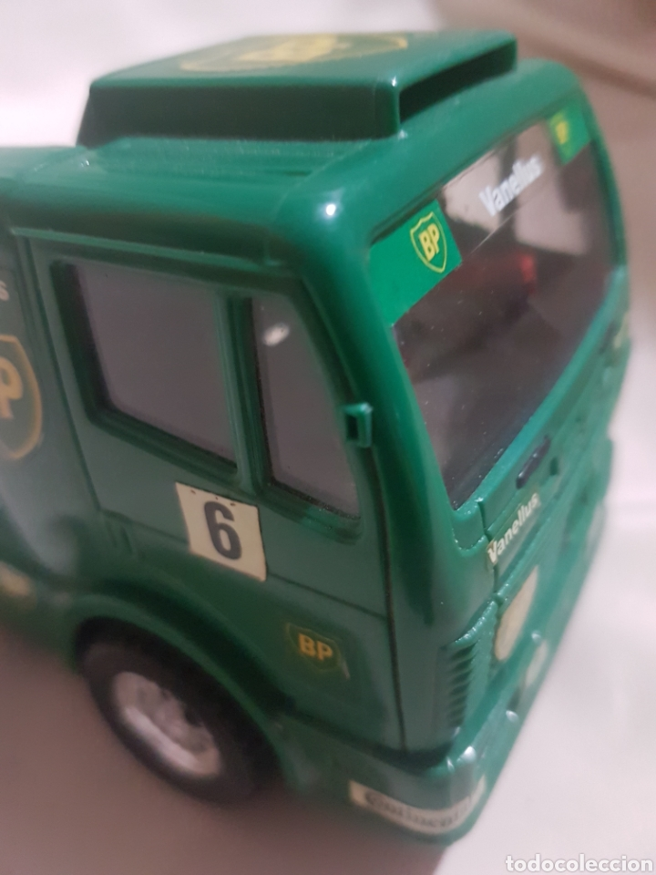 Scalextric: Camión scalextric mercedes scx verde n 6 bp - Foto 4 - 89750300
