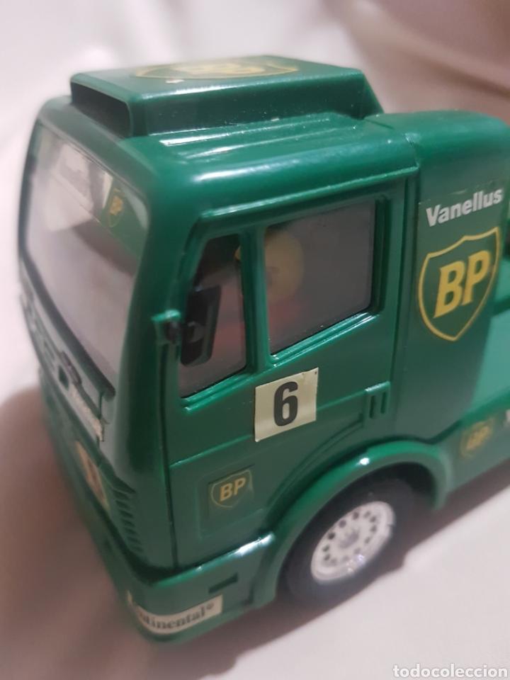 Scalextric: Camión scalextric mercedes scx verde n 6 bp - Foto 5 - 89750300