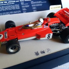 Scalextric: SUPERSLOT SCALEXTRIC UK INGLÉS TEAM LOTUS TYPE 72 TONY TRIMMER. COLECCIÓN LEGENDS. NUMERADO. Lote 155607096