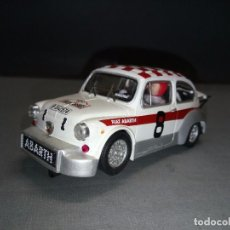 Scalextric: SCALEXTRIC-FIAT ABARTH 1000 TC (MANUEL JUNCOSA) ALTAYA -EDIT LIMIT. Lote 93239400