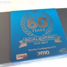 Scalextric: SCALEXTRIC INGLES UK COCHE COLECCIÓN 60 ANIVERSARIO.SÓLO 2.000 U, NUMERADAS, NO VENDIDAS EN ESPAÑA. Lote 97465783