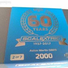 Scalextric: SCALEXTRIC INGLES UK COCHE COLECCIÓN 60 ANIVERSARIO.SÓLO 2.000 U, NUMERADAS, NO VENDIDAS EN ESPAÑA. Lote 122919268