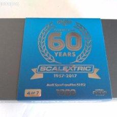 Scalextric: SCALEXTRIC INGLES UK COCHE COLECCIÓN 60 ANIVERSARIO.SÓLO 2.000 U, NUMERADAS, NO VENDIDAS EN ESPAÑA. Lote 97466175