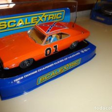 Scalextric: SUPERSLOT. DODGE CHARGER 1969. GENERAL LEE. REF. C3044. Lote 98147227