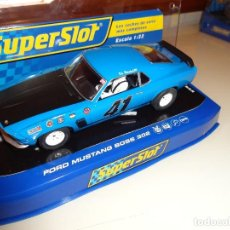 Scalextric: SUPERSLOT. FORD MUSTANG BOSS 302 1969. REF. H3613. Lote 98147463