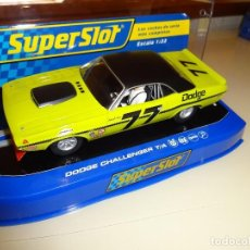 Scalextric: SUPERSLOT. DODGE CHALLENGER T/A. SAM POSEY. REF. H3419. Lote 98147703