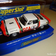 Scalextric: SUPERSLOT. CHEVROLET CAMARO Nº5. FRANK GARDNER. TRANS-AM 1972. REF. 3534. Lote 98147875