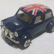 Scalextric: MINI COOPER BLUE UNION JACK * SCX-UK C399 (1995) /C16/. Lote 98150675