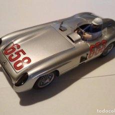 Scalextric: MERCEDES BENZ 300SLR MILLE MIGLIA FANGIO SUPERSLOT NUEVO EN CAJA. Lote 98591199
