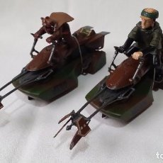 Scalextric: PAREJA STAR WARS 74-Z SPEEDER BIKE SCX-UK C3298/3299 (2012) /C42/. Lote 98775159