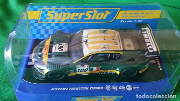ASTON MARTIN DBR9 – SCUDERIA ITALIANA Nº100 – COCHE CLUB SUPERSLOT (Juguetes - Slot Cars - Scalextric SCX (UK))
