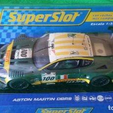 Scalextric: ASTON MARTIN DBR9 – SCUDERIA ITALIANA Nº100 – COCHE CLUB SUPERSLOT. Lote 99862131