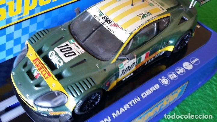 Scalextric: Aston Martin DBR9 – Scuderia Italiana Nº100 – Coche Club Superslot - Foto 2 - 99862131