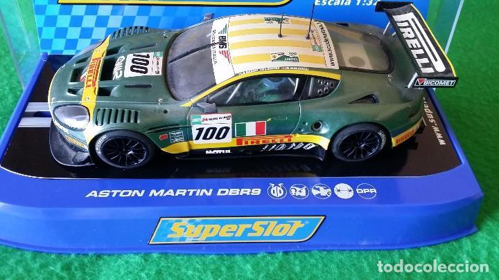 Scalextric: Aston Martin DBR9 – Scuderia Italiana Nº100 – Coche Club Superslot - Foto 3 - 99862131