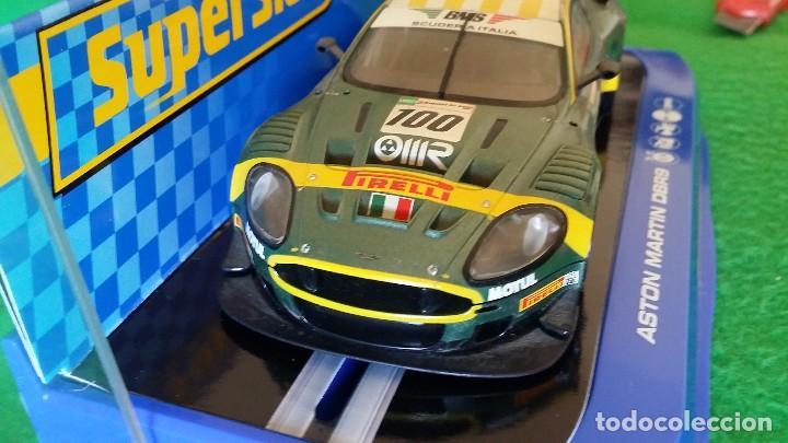 Scalextric: Aston Martin DBR9 – Scuderia Italiana Nº100 – Coche Club Superslot - Foto 4 - 99862131