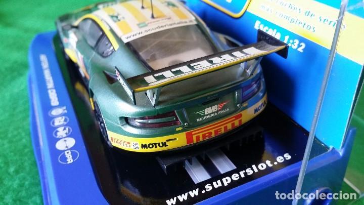 Scalextric: Aston Martin DBR9 – Scuderia Italiana Nº100 – Coche Club Superslot - Foto 5 - 99862131