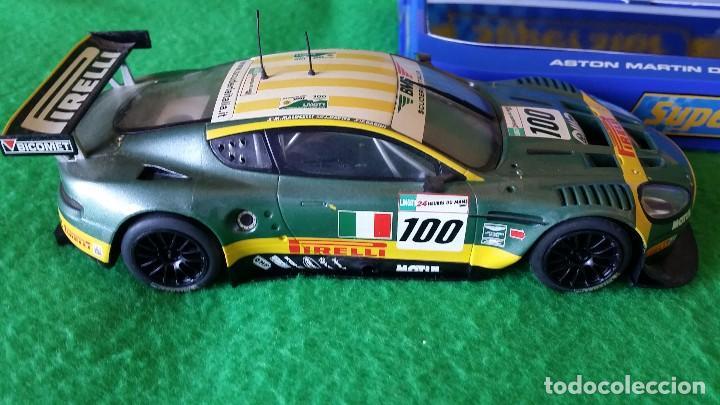 Scalextric: Aston Martin DBR9 – Scuderia Italiana Nº100 – Coche Club Superslot - Foto 6 - 99862131