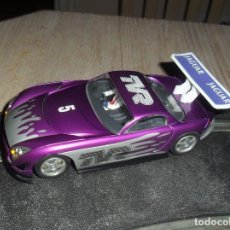 Scalextric: TVR SPEED DE HORNBY. Lote 100201431