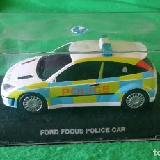 Scalextric: FORD FOCUS POLICE CAR – COCHE POLICIA – SCALEXTRIC UK / SUPERSLOT. Lote 100517207