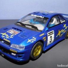 Scalextric: SUBARU IMPREZA WRC HORNBY. Lote 100709447