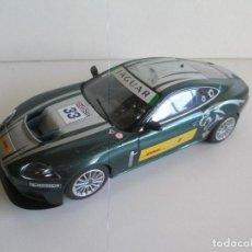 Scalextric: JAGUAR XKR GT3, ORIGINAL SCALEXTRIC U.K SUPERSLOT, SLOT 1:32, SIN ALERÓN TRASERO. Lote 101185063