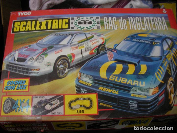 ANTIGUO CIRCUITO SCALEXTRIC RAC DE INGLATERRA (Juguetes - Slot Cars - Scalextric SCX (UK))