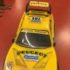 Scalextric: ANTIGUO COCHE SCALEXTRIC SCX PEUGEOT 405 PIONNER , MODELO DIFÍCIL. MADE IN SPAIN.. Lote 104128927