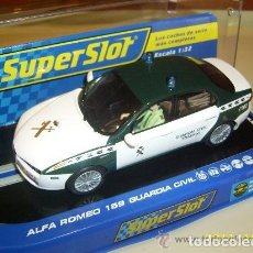 Scalextric: SUPERSLOT ALFA ROMEO 159 GUARDIA CIVIL, REF. H-3149, A ESTRENAR. Lote 109938071