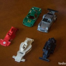 Scalextric: LOTE CARROCERIA FORD-MIRAGE,SHADOW,WALTER WOLF WR 5, BRABHAM BT 44,PORSCHE MARTINI. Lote 110270311