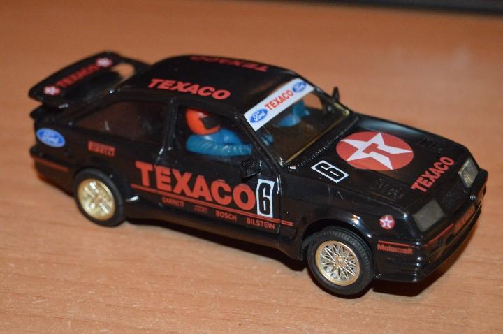PRECIOSO - FORD SIERRA COSWORTH TEXACO - HONRBY MADE IN GREAT BRITAIN - SLOT - HAZME UNA OFERTA (Juguetes - Slot Cars - Scalextric SCX (UK))