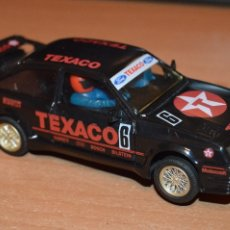Scalextric: PRECIOSO - FORD SIERRA COSWORTH TEXACO - HONRBY MADE IN GREAT BRITAIN - SLOT - HAZME UNA OFERTA. Lote 110492319