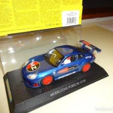 Scalextric: SCALEXTRIC. PORSCHE 911 GT3R. MODELZONE SPECIAL EDITION. REF. C2470. Lote 113644003