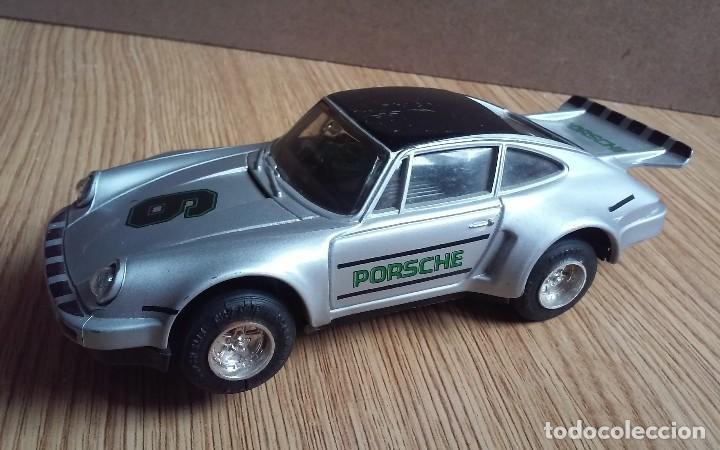 SCALEXTRIC PORSCHE 935 TURBO UK C125, FUNCIONA LA LUZ (Juguetes - Slot Cars - Scalextric SCX (UK))