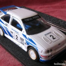 Scalextric: SCALEXTRIC - SUPERSLOT - FORD ESCORT RS COSWORTH - REF C 203 - MOTOR MABUCHI - LUCES, IMAN. Lote 123289387