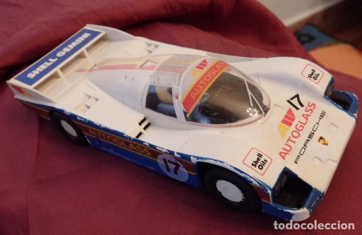 SCALEXTRIC U.K. PORSCHE 962 AUTOGLASS DE 1988 (Juguetes - Slot Cars - Scalextric SCX (UK))