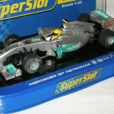Scalextric: F1 MERCEDES GP ROSBERG 2011 SUPERSLOT/SCALEXTRIC. Lote 128295323