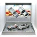 Scalextric: PACK MILLE MIGLIA MERCEDES 300 SLR - MERCEDES SLR MCLAREN 722 (SCALEXTRIC). Lote 128388015
