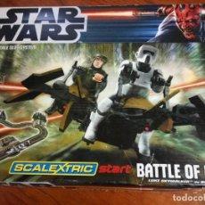 Scalextric: SCALEXTRIC STAR WARS (BATTLE OF ENDOR) BATALLA DE ENDOR . Lote 128397691