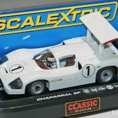 Scalextric: CHAPARRAL 2F JIM HALL (SCALEXTRIC) ¡NUEVO! EN CAJA. Lote 128435183