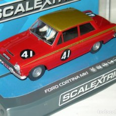 Scalextric: FORD LOTUS CORTINA SUPERSLOT/SCALEXTRIC UK NUEVO. Lote 128675607