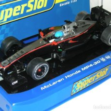 Scalextric: F1 MCLAREN MP4-30 FERNADO ALONSO SUPERSLOT/SCALEXTRIC. Lote 128675639