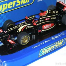 Scalextric: F1 LOTUS RENAULT SUPERSLOT/SCALEXTRIC NUEVO EN CAJA. Lote 128675687