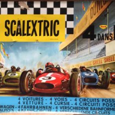 Scalextric: CIRCUITO DE SCALEXTRIC FRANCÉS 80. Lote 128731320