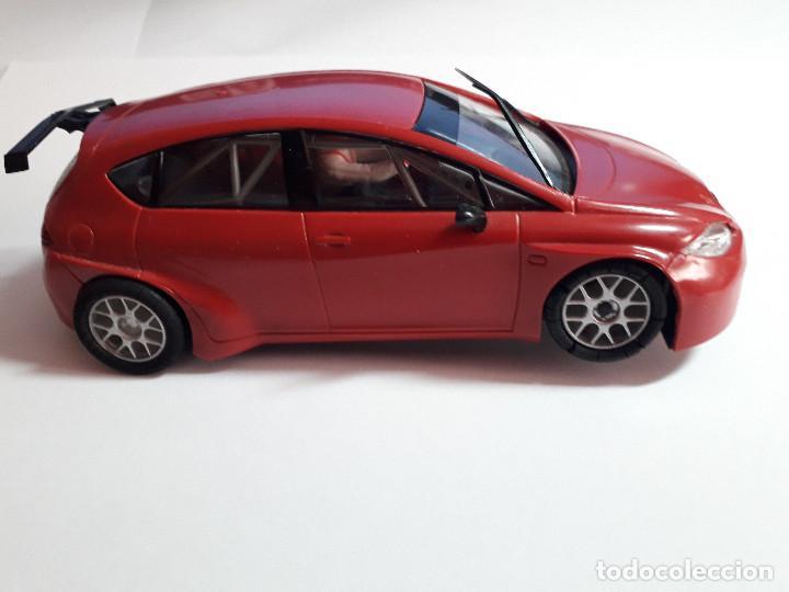 Scalextric: 06-00040 - coche scalextric seat leon WTCC rojo - Foto 2 - 129374391