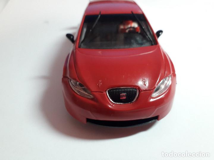 Scalextric: 06-00040 - coche scalextric seat leon WTCC rojo - Foto 3 - 129374391