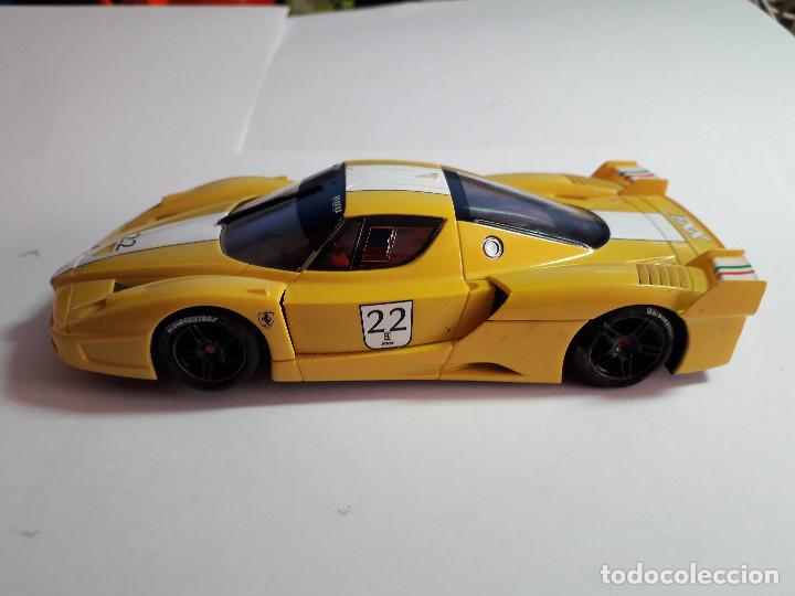 Scalextric: 06-00044 - coche SCALEXTRIC. FERRARI FXX AMARILLO - Foto 2 - 129375175
