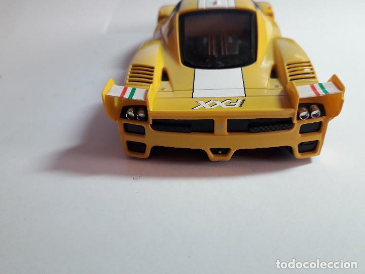 Scalextric: 06-00044 - coche SCALEXTRIC. FERRARI FXX AMARILLO - Foto 3 - 129375175