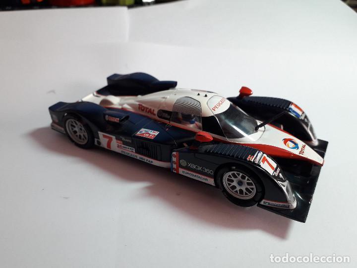 06-00045 - COCHE SCALEXTRIC AUDI R10 PLATEADO (FALTA PILOTO TRASERO) (Juguetes - Slot Cars - Scalextric SCX (UK))
