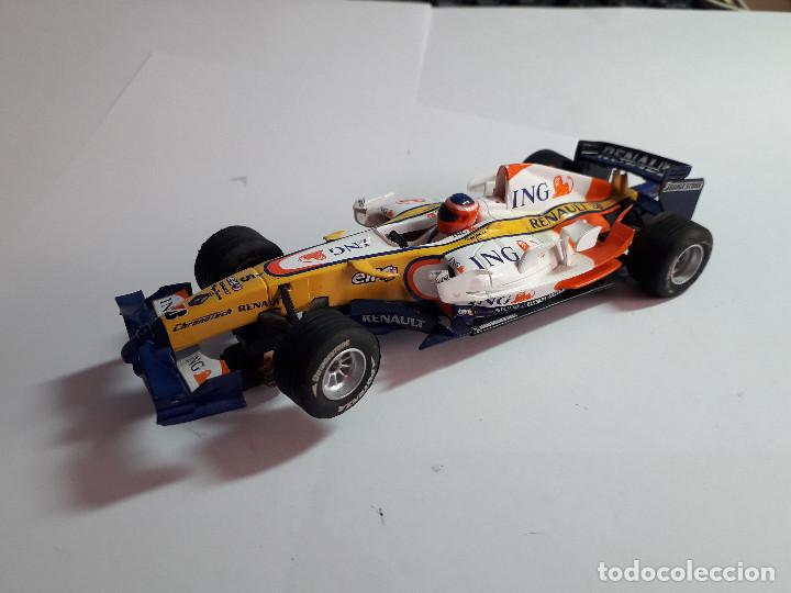 06-00048 - COCHE SCALEXTRIC RENAULT F1 ING TEAM (Juguetes - Slot Cars - Scalextric SCX (UK))
